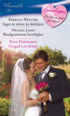 Inget är större än kärleken/Brudgummens hemlighet/FÅNGAD I EN DRÖM?  - ebook