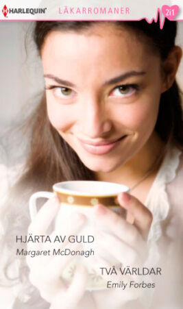 Hjärta av guld/Två världar - ebook