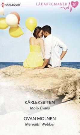 Kärleksbiten/Ovan molnen - ebook