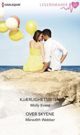 Kjærlighetsbiten/Over skyene - ebook
