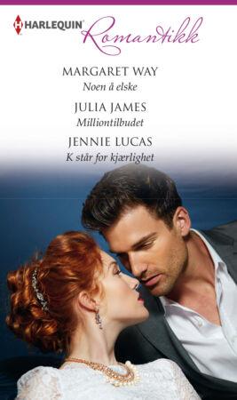 Noen å elske /Milliontilbudet /K står for kjærlighet  - ebook