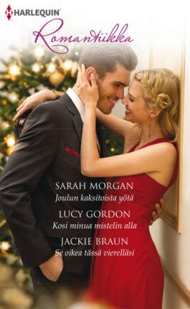 Joulun kaksitoista yötä/Kosi minua mistelin alla/Se oikea tässä vierelläsi - ebook