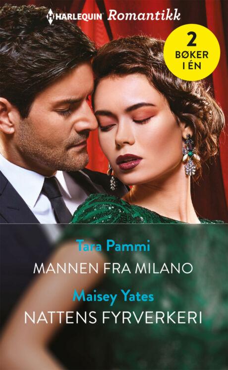 Harpercollins Nordic Mannen fra Milano/Nattens fyrverkeri