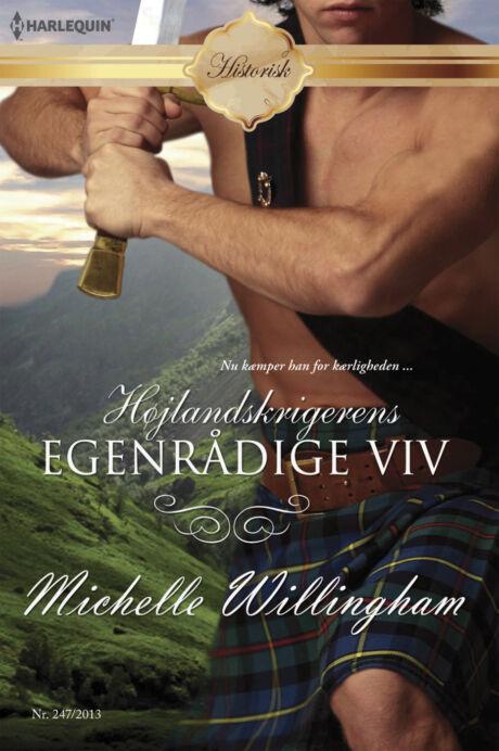 Harpercollins Nordic Højlandskrigerens egenrådige viv - ebook