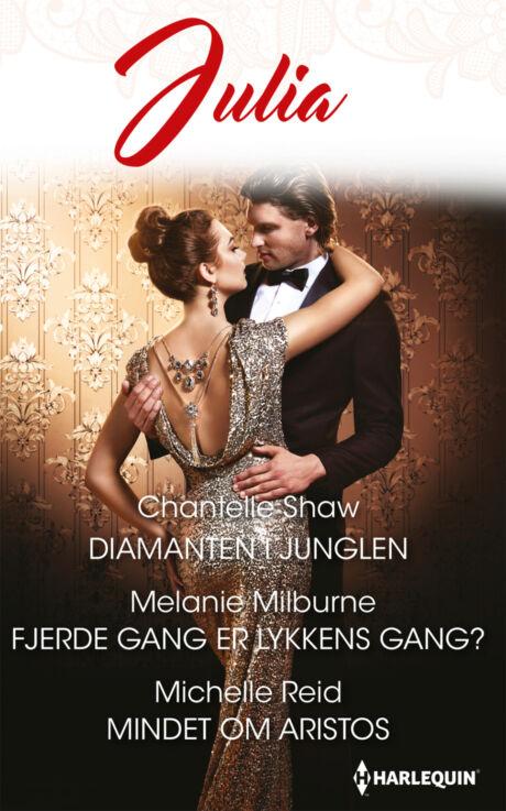 Harpercollins Nordic Diamanten i junglen/Fjerde gang er lykkens gang?/Mindet om Aristos