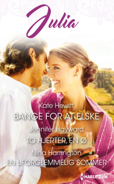 Harpercollins Nordic Bange for at elske/To hjerter, en ø/En uforglemmelig sommer