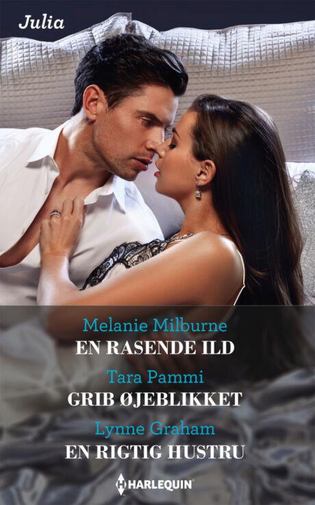 Harpercollins Nordic En rasende ild /Grib øjeblikket/En rigtig hustru - ebook