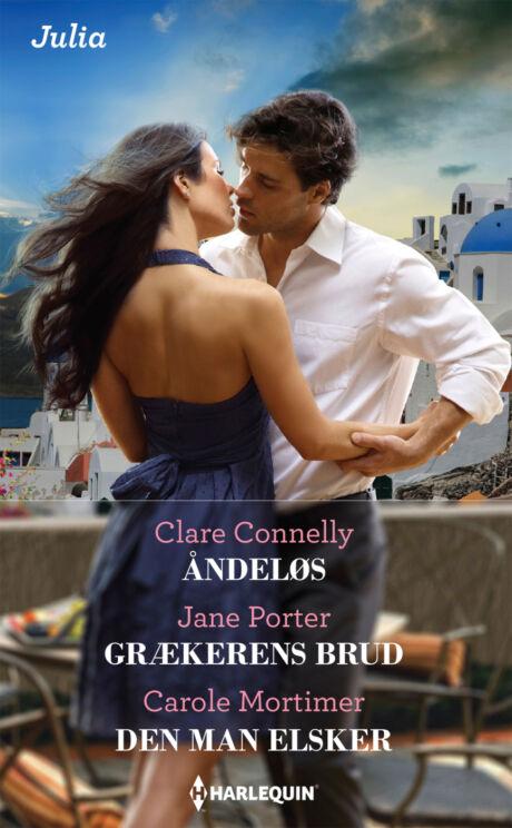 Harpercollins Nordic Åndeløs/Grækerens brud/Den man elsker