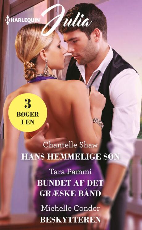 Harpercollins Nordic Hans hemmelige søn/Bundet af det græske bånd/Beskytteren