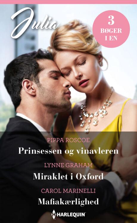 Harpercollins Nordic Prinsessen og vinavleren/Miraklet i Oxford/Mafiakærlighed