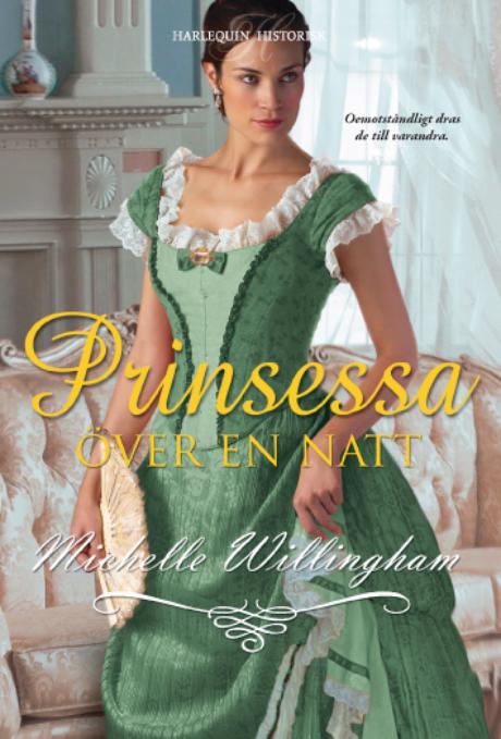 Harpercollins Nordic Prinsessa över en natt - ebook