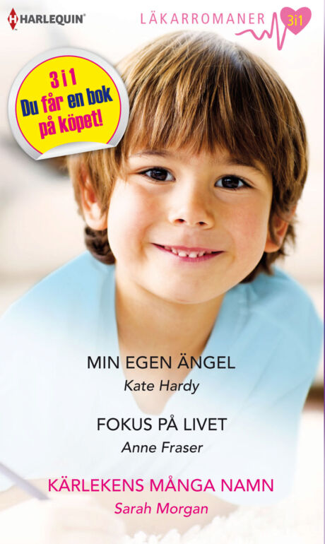 Harpercollins Nordic Min egen ängel/Fokus på livet/Kärlekens många namn - ebook