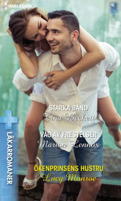 Harpercollins Nordic Starka band/Våg av frestelser/Ökenprinsens hustru - ebook