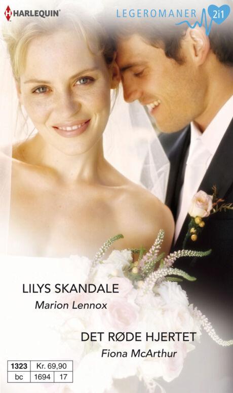 Harpercollins Nordic Lilys skandale/Det røde hjertet - ebook