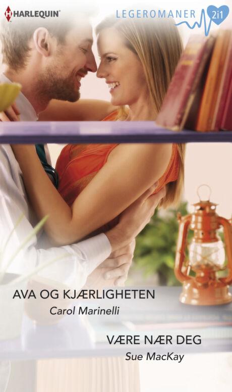 Harpercollins Nordic Ava og kjærligheten/Være nær deg  - ebook