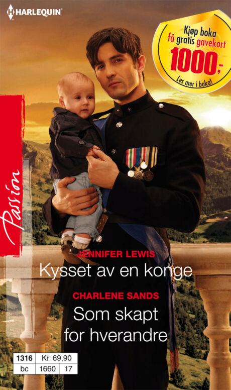 Harpercollins Nordic Kysset av en konge/Som skapt for hverandre - ebook