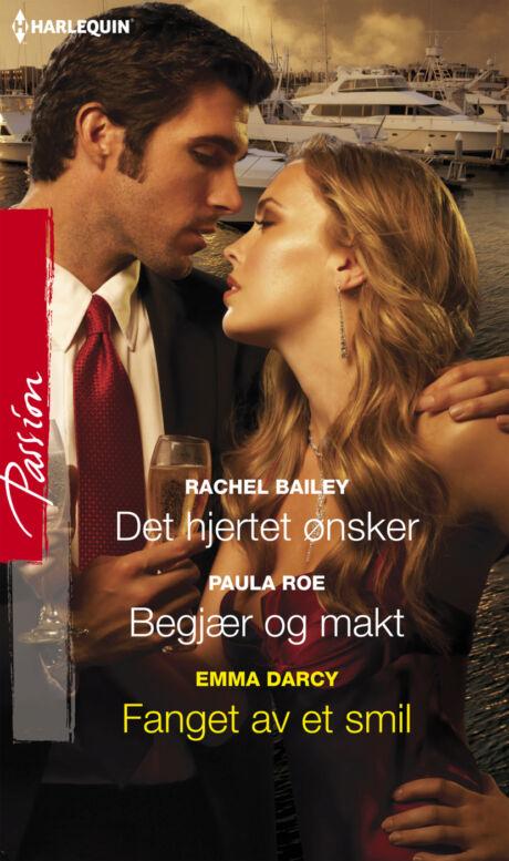 Harpercollins Nordic Det hjertet ønsker/Begjær og makt/Fanget av et smil - ebook