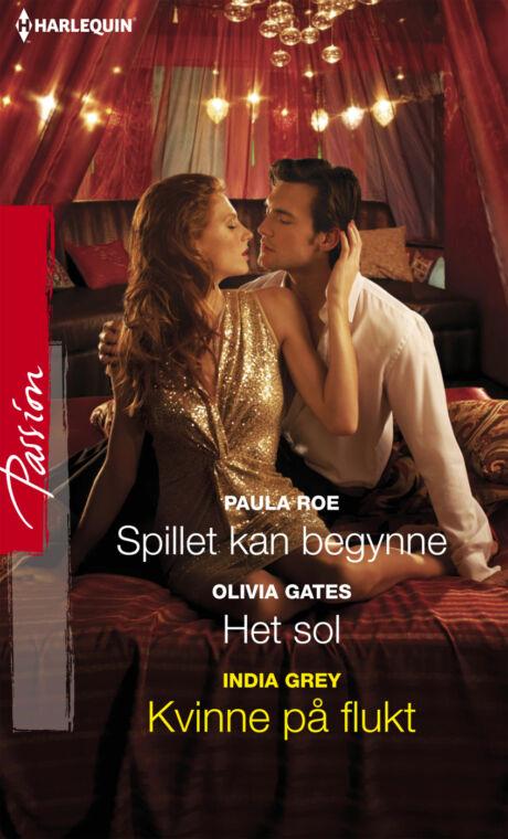 Harpercollins Nordic Spillet kan begynne/Het sol/Kvinne på flukt - ebook