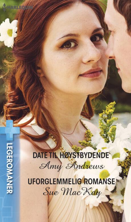 Harpercollins Nordic Date til høystbydende/Uforglemmelig romanse - ebook