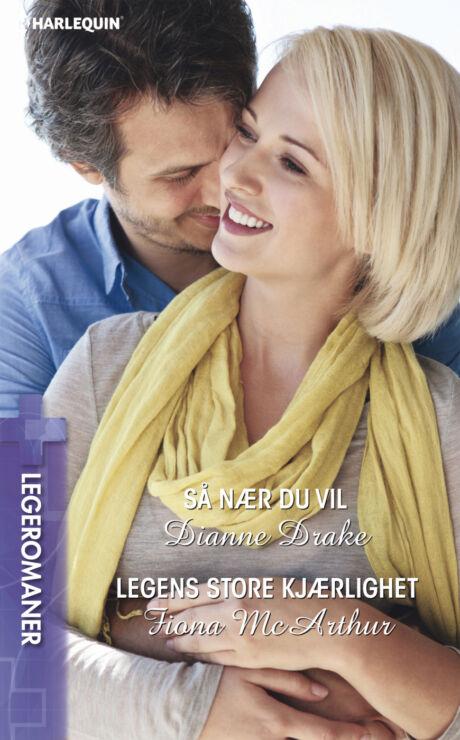 Harpercollins Nordic Så nær du vil/Legens store kjærlighet - ebook