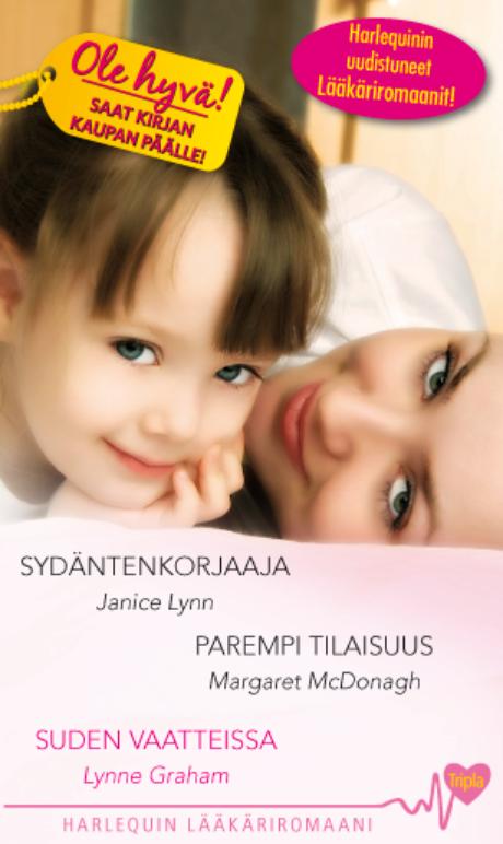 Harpercollins Nordic Sydäntenkorjaaja/Parempi tilaisuus/Suden vaatteissa - ebook