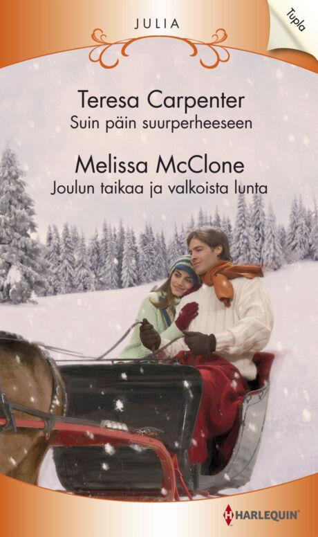Harpercollins Nordic Suin päin suurperheeseen/Joulun taikaa ja valkoista lunta  - ebook