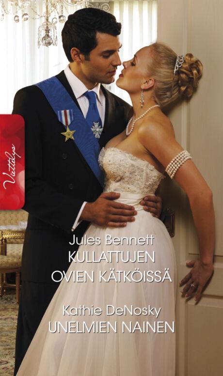 Harpercollins Nordic Kullattujen ovien kätköissä/Unelmien nainen - ebook