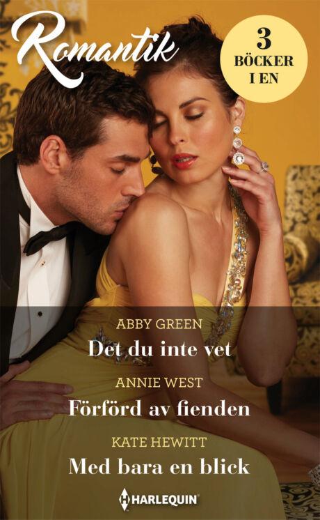 Harpercollins Nordic Det du inte vet/Förförd av fienden/Med bara en blick