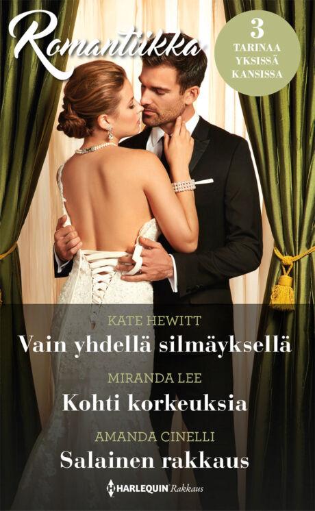 Harpercollins Nordic Vain yhdellä silmäyksellä/Kohti korkeuksia/Salainen rakkaus