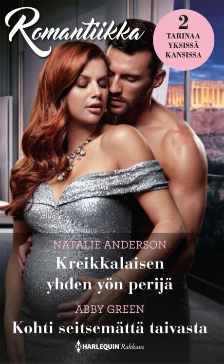 Harpercollins Nordic Kreikkalaisen yhden yön perijä/Kohti seitsemättä taivasta