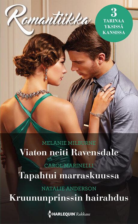 Harpercollins Nordic Viaton neiti Ravensdale/Tapahtui marraskuussa/Kruununprinssin hairahdus