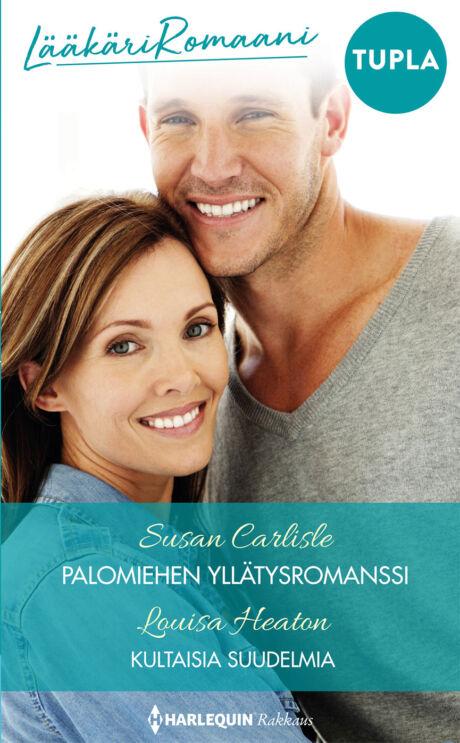Harpercollins Nordic Palomiehen yllätysromanssi/Kultaisia suudelmia