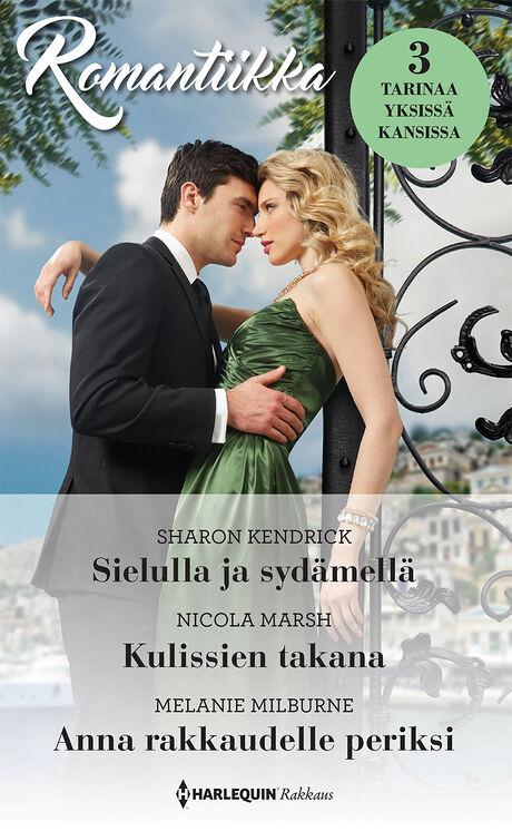 Harpercollins Nordic Sielulla ja sydämellä/Kulissien takana/Anna rakkaudelle periksi
