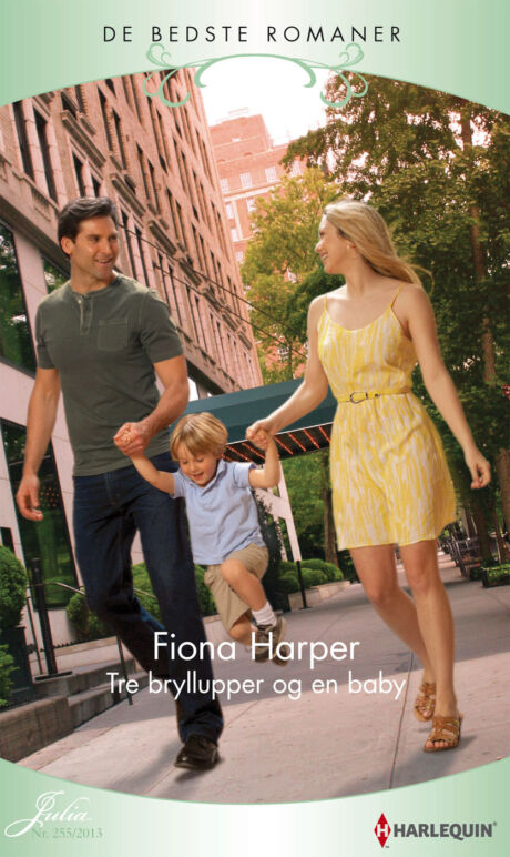Harpercollins Nordic Tre bryllupper og en baby - ebook