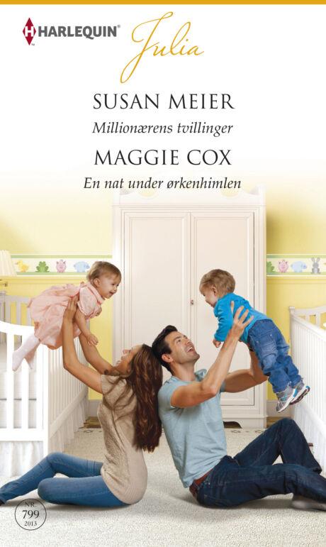 Harpercollins Nordic Millionærens tvillinger /En nat under ørkenhimlen - ebook
