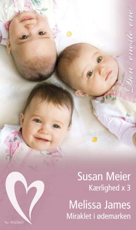 Harpercollins Nordic Kærlighed x 3/Miraklet i ødemarken  - ebook