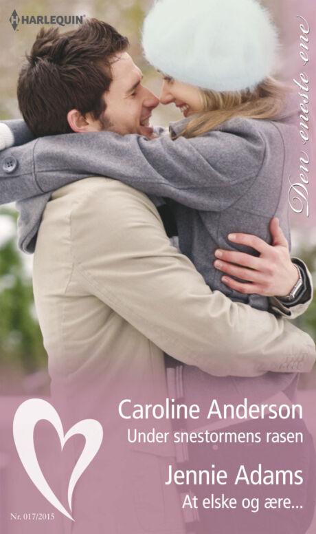 Harpercollins Nordic Under snestormens rasen/At elske og ære...  - ebook