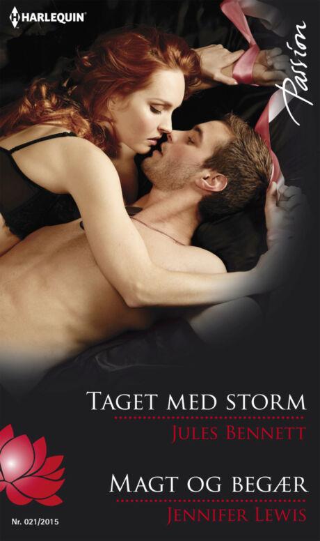 Harpercollins Nordic Taget med storm/Magt og begær - ebook