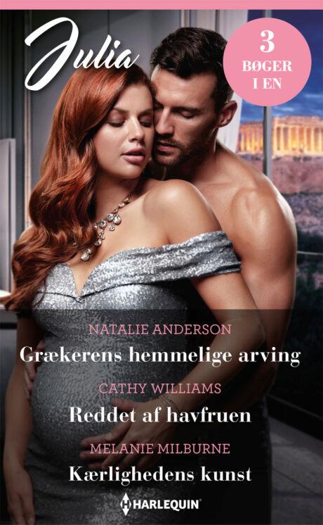 Harpercollins Nordic Grækerens hemmelige arving/Reddet af havfruen/Kærlighedens kunst