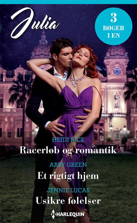 Harpercollins Nordic Racerløb og romantik/Et rigtigt hjem/Usikre følelser