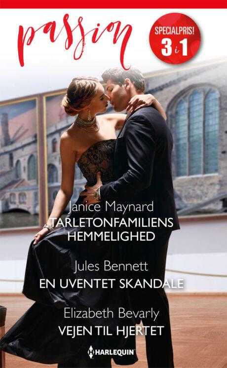 Harpercollins Nordic Tarletonfamiliens hemmelighed/En uventet skandale/Vejen til hjertet