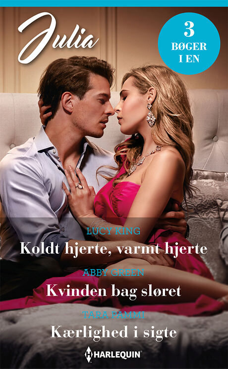 Harpercollins Nordic Koldt hjerte, varmt hjerte/Kvinden bag sløret/Kærlighed i sigte