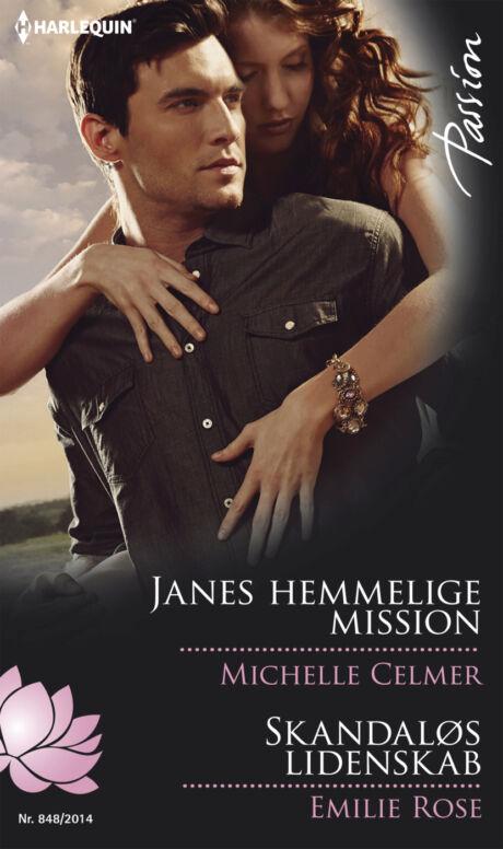 Harpercollins Nordic Janes hemmelige mission/Skandaløs lidenskab - ebook