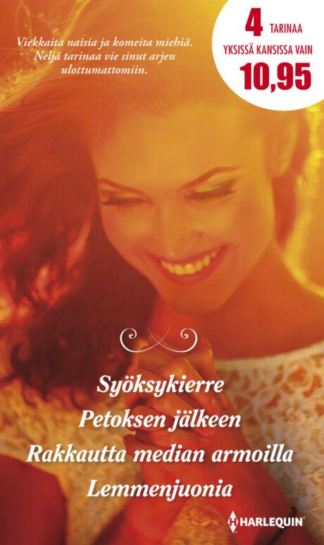 Harpercollins Nordic Syöksykierre/Petoksen jälkeen/Rakkautta median armoilla /Lemmenjuonia