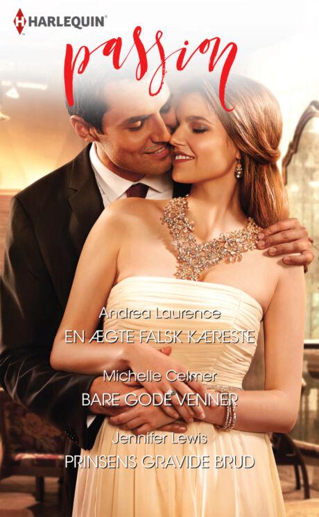 Harpercollins Nordic En ægte falsk kæreste/Bare gode venner/Prinsens gravide brud