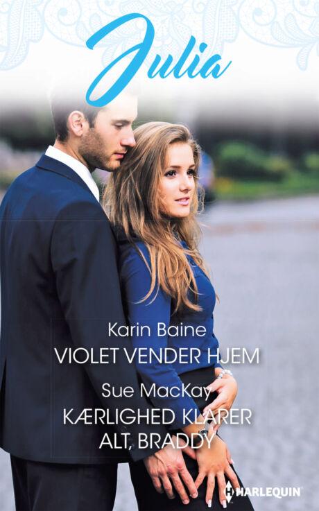 Harpercollins Nordic Violet vender hjem/Kærlighed klarer alt, Braddy