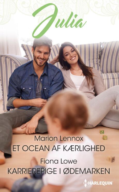 Harpercollins Nordic Et ocean af kærlighed/Karrierepige i ødemarken - ebook