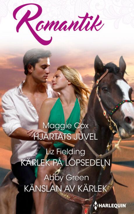 Harpercollins Nordic Hjärtats juvel/Kärlek på löpsedeln/Känslan av kärlek