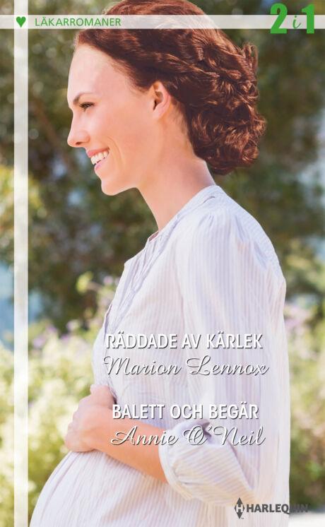 Harpercollins Nordic Räddade av kärlek/Balett och begär