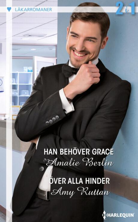 Harpercollins Nordic Han behöver Grace/Över alla hinder